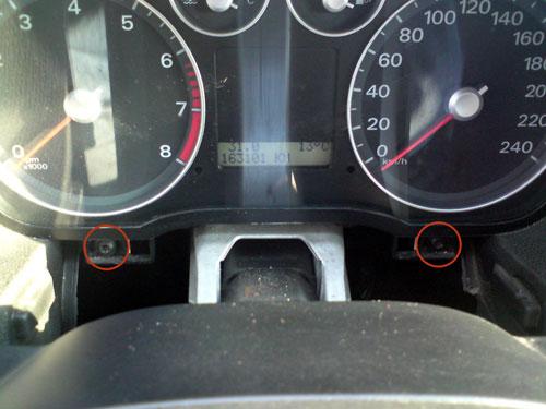 Фото 4. Снятие и установка панели приборов Форд Фокус 2