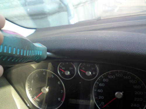 Фото 5. Снятие и установка панели приборов Форд Фокус 2