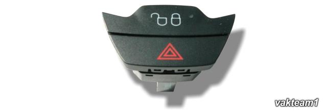 Кнопка центрального замка и включения аварийной сигнализации