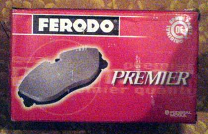 Тормозные колодки Ferodo FDB 1594