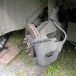 Замена передних тормозных колодок — Форд Фокус 2