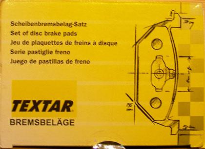 Textar T 4370 Передние колодки для Форд Фокус 2