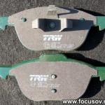 Передние тормозные колодки TRW/Lucas GDB1583
