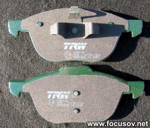 Тормозные колодки TRW/Lucas GDB1583