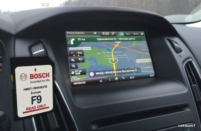 Навигация Форд SYNC2